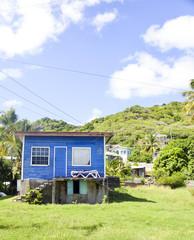 historic Caribbean architecture residence Union Island