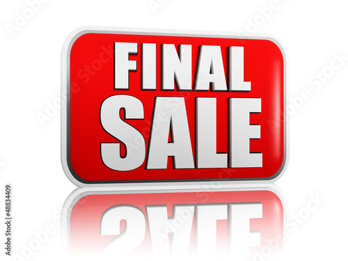 final sale in red banner