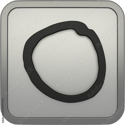 Icon: 3D Auswahlkreis - Circle