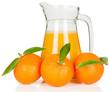 Tangerine juice