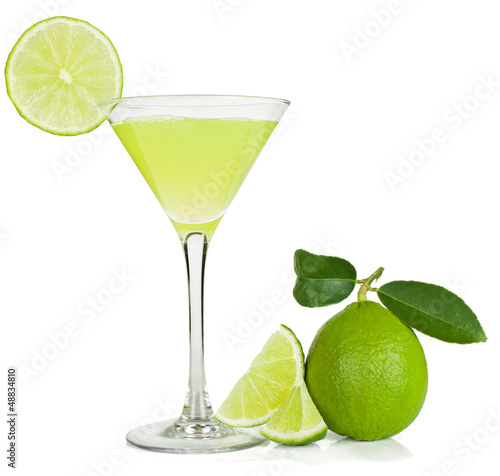 lime juice and lime