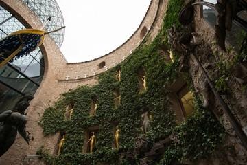 FIGUERES - OCTOBER 12: VisitingThe Dalí Theatre-Museum, Spain