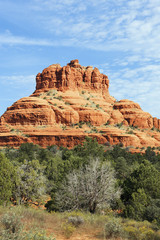 big red rock