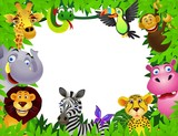 Safari animal cartoon