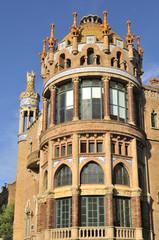 Barcelona, Hospital de la Santa Creu i Sant Pau.