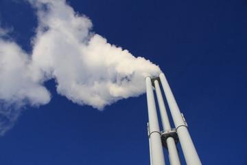 Rauchschwaden am Horizont