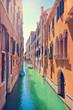 Beautiful scene in Venice, Italy