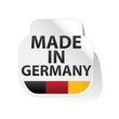 étiquette Made in germany