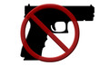 Ban on handguns rifles