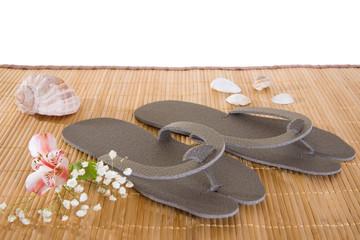 Spa or hotel flip flops