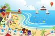 Beach town - 48841267