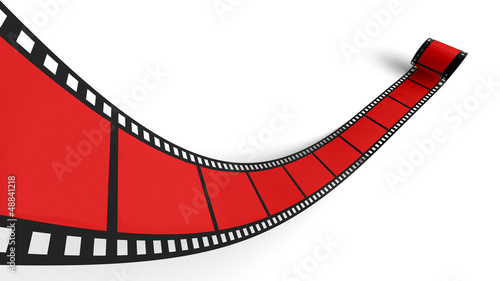 Blanko Filmrolle Rot 01