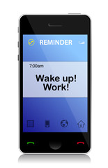 work, Wake up cell message