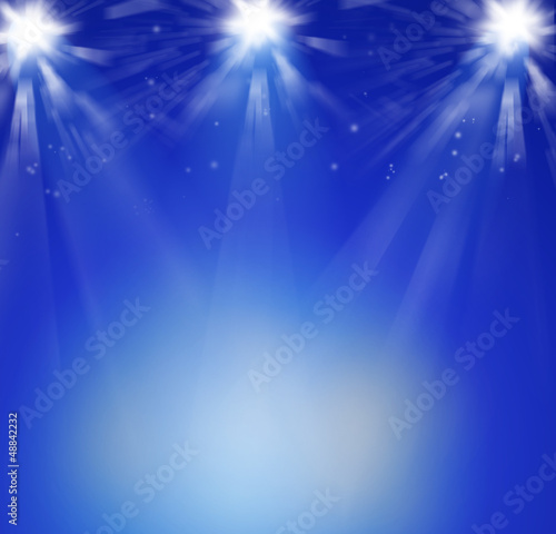 Spotlit background