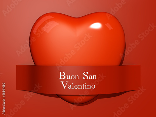 Valentine's Paper Cut out - Italian Language