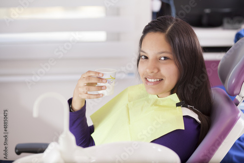 I love visiting the dentist