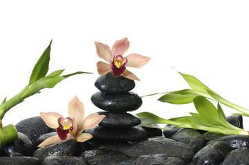 Flower spa setting