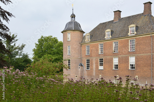 Castle  Slangenburg in The Netherlands.