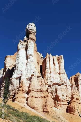 Famous hoodoo rocks at Bryce Canyon