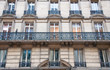 "Typical ""Haussmannian"" building, Paris."