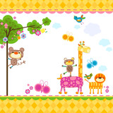 Fototapety animals background