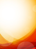 Fototapety Bright orange background