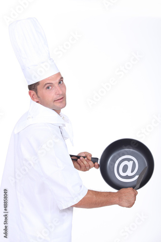 Chef with an @ sign