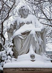 Vienna -  Franz Schubert statue in Stadtpark