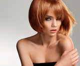 Red Hair. High quality image.