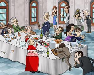 Bizarre banquet
