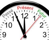 Horloge. Passé, présent, futur poster