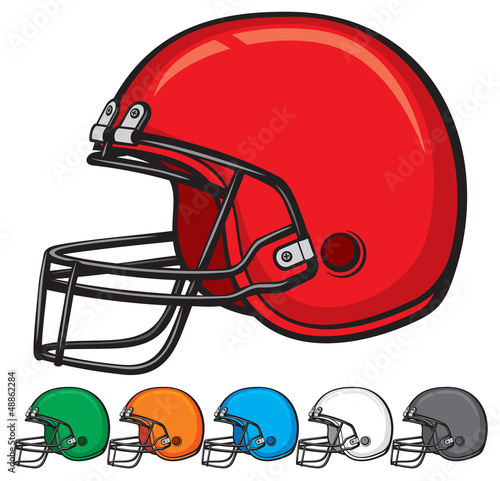 american football helmet collection