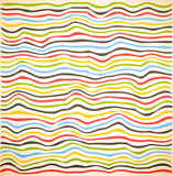 Colorful line pattern