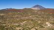 Arid landscape in Tenerife