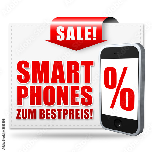 Smartphones zum Bestpreis! Button, Icon