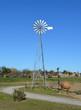 pompe éolienne à Saint Cyprien (Pyrenées orientales-