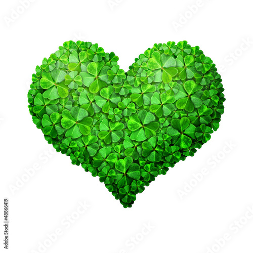 Green Clove Heart