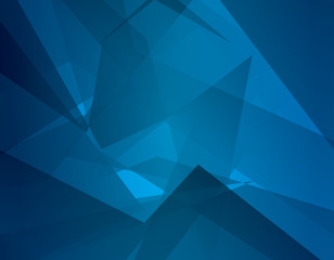 Abstract dark blue background with broken lines