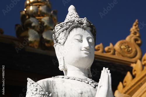 White Buddha Chiang Mai 3