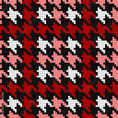 houndstooth plaid