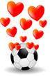 Fußball Herzen