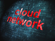 Cloud computing technology, networking concept: Cloud Network on