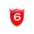 Secure shield number 6.