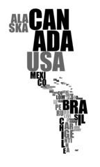 Textkontinent Amerika