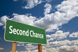 Second Chance Green Road Sign