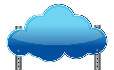 Cloud sign