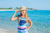 cutie girl in hat