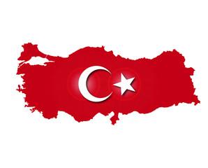 Türkei Landkarte, Turkey map, Türkiye, Vector