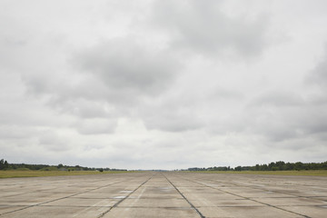 Runway of the old airport