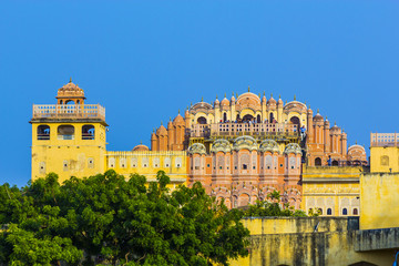 Hawa Mahal in late afternoon light